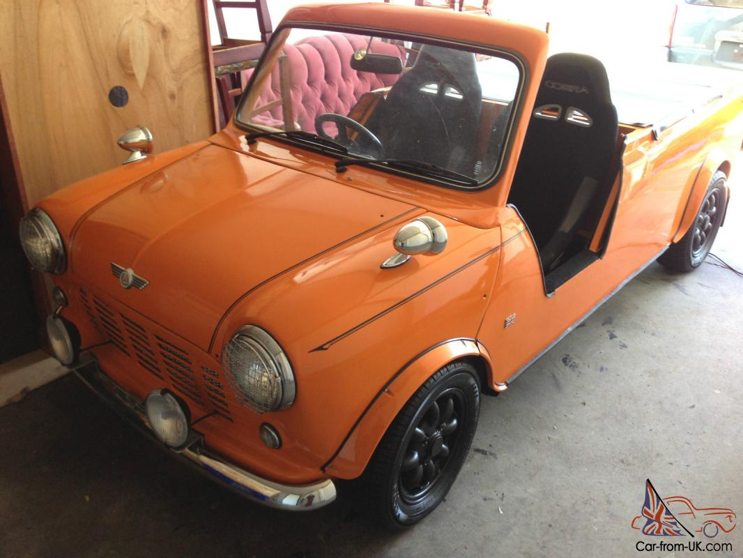 1380cc austin mini classic pickup truck no reserve. Black Bedroom Furniture Sets. Home Design Ideas