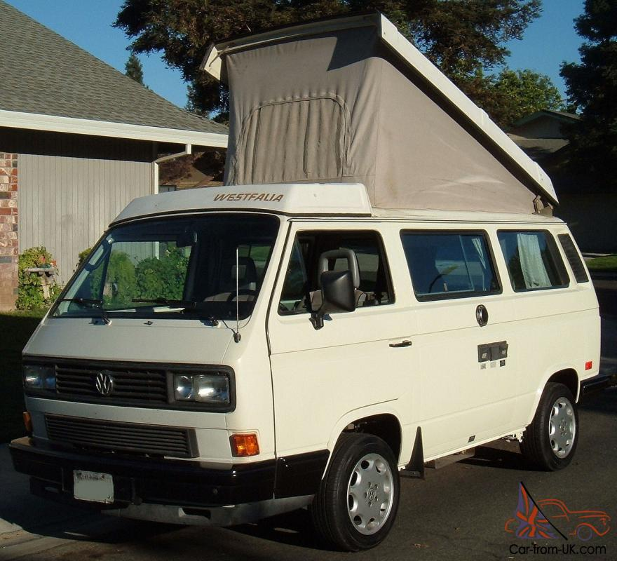 1988 vw westfalia camper california rust free van. Black Bedroom Furniture Sets. Home Design Ideas