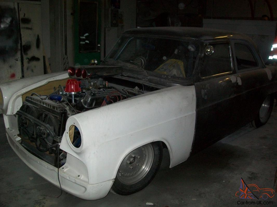 classic Ford Zephyr road legal hot-rod drag racer unfinished project ...