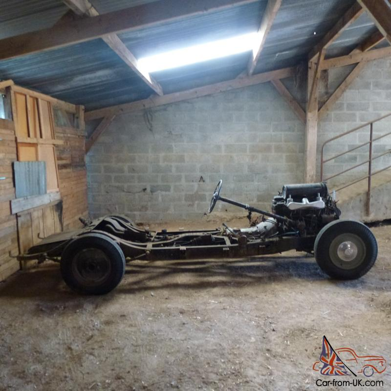 1926 Bentley Rolling Chassis