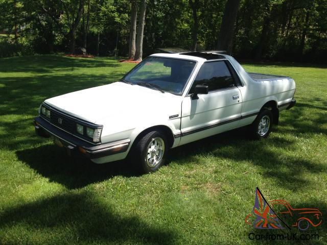 1986 subaru brat gl 4x4 rust free 4 speed ac 70k mini. Black Bedroom Furniture Sets. Home Design Ideas