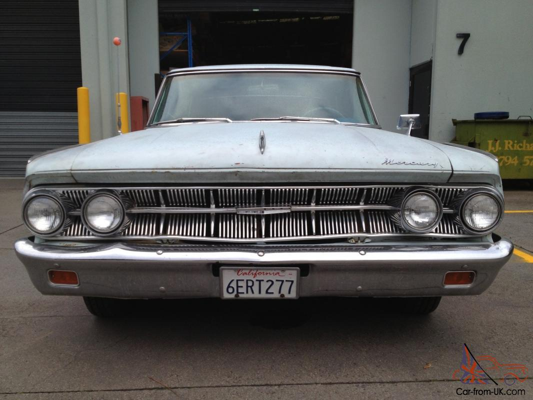 Bargain 1963 Ford Mercury Monterey Custom Coupe 390 Auto