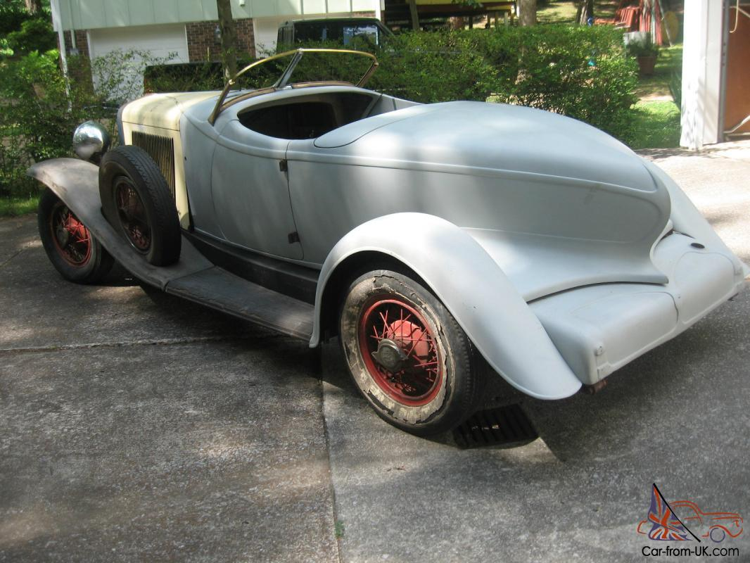 1931/32 Auburn Speedster Project Car