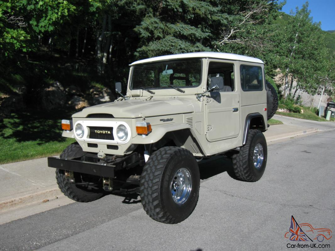 1976 Toyota Land Cruiser FJ40 plete Restoration