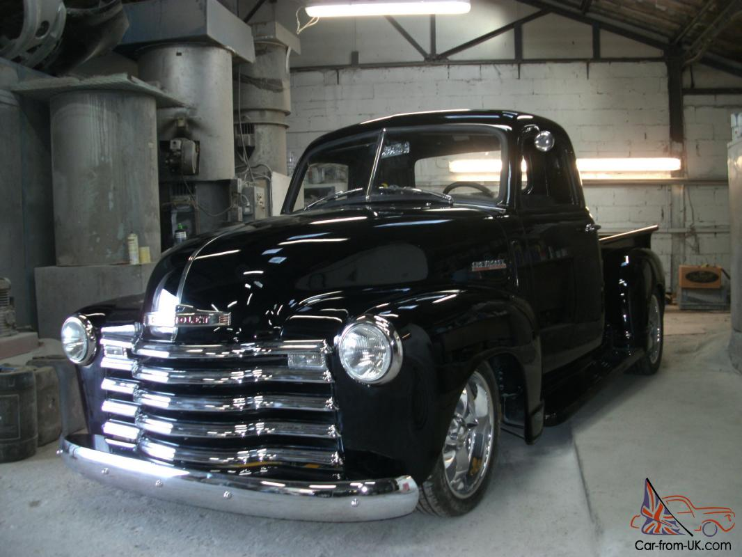 Chevy Stepside Pickup Truck 1948 V8