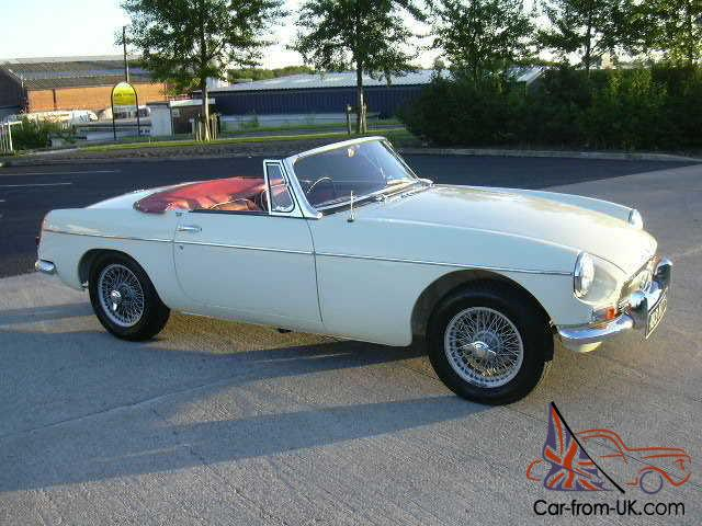 MGB Roadster, 1963, Pull Handle, Wire Wheels, EXCEPTIONAL/MATCHING ...