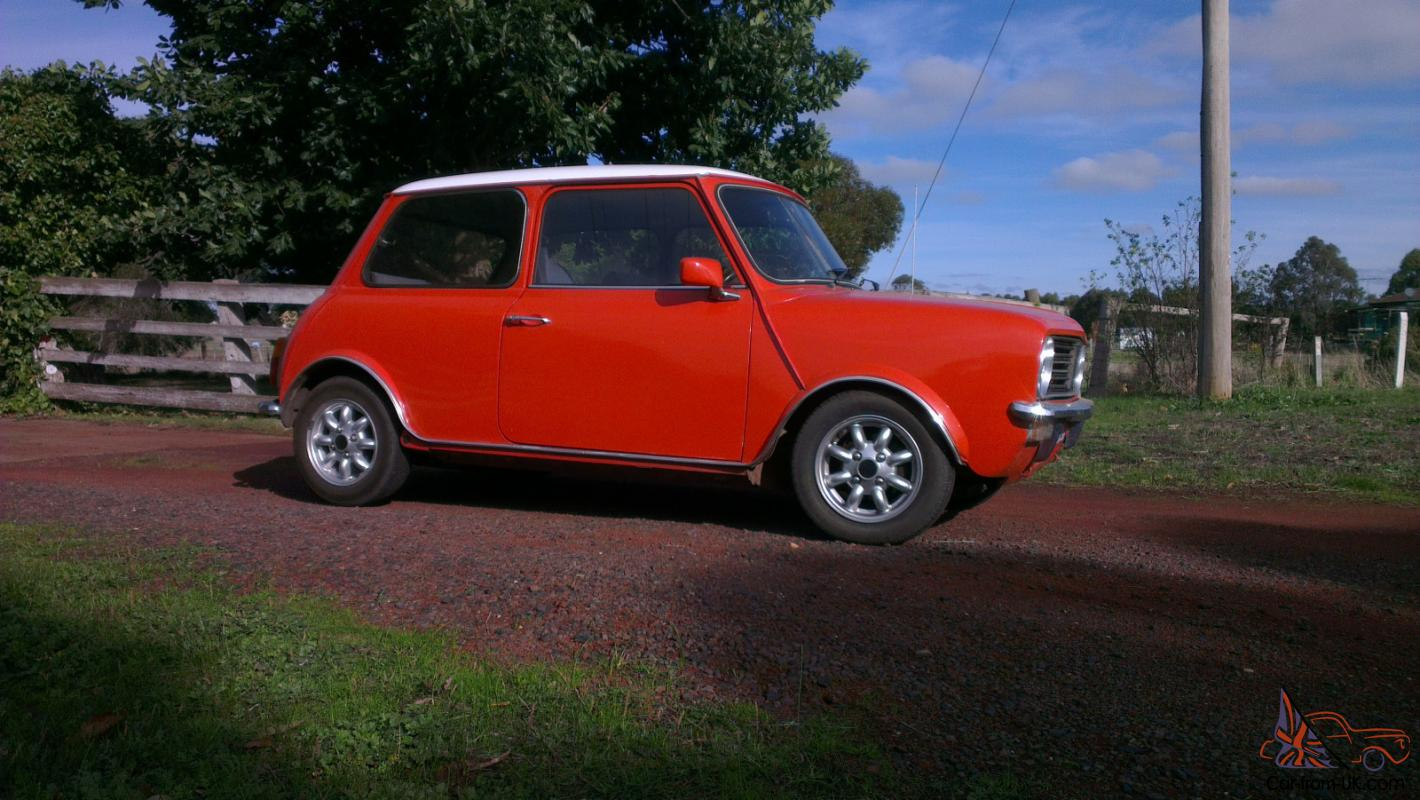 Austin Mini Coupe 1975 Mini Clubman 1310cc Imported Model