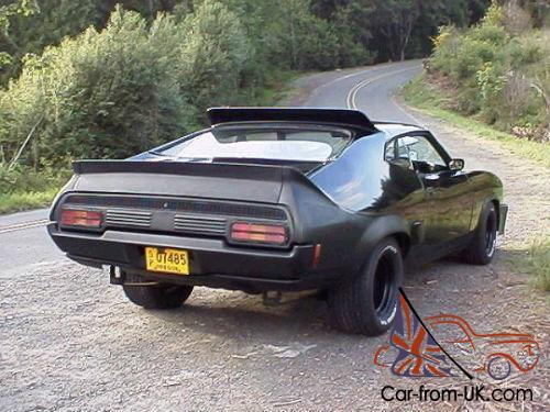 mad max ford falcon xb gt v8 interceptor coupe black. Black Bedroom Furniture Sets. Home Design Ideas