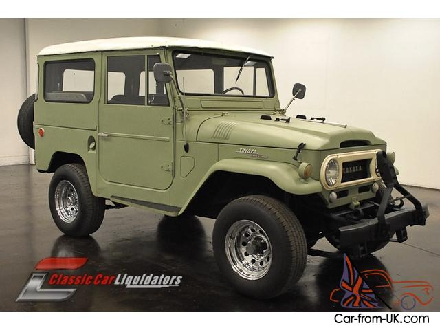 1965 toyota fj40 land cruiser 4x4 incline 6cyl 3 speed. Black Bedroom Furniture Sets. Home Design Ideas
