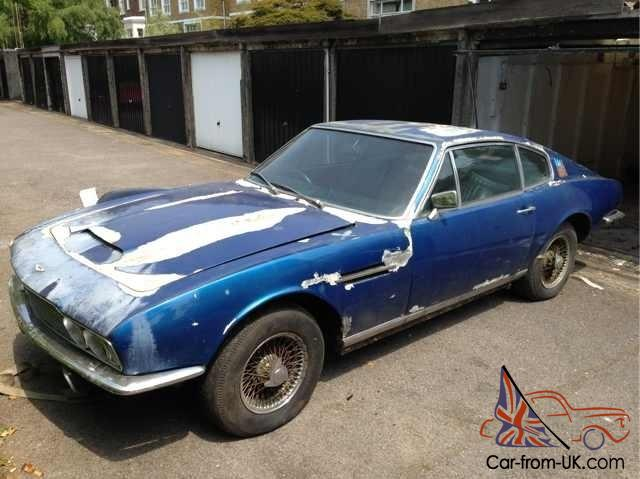 Aston Martin Dbs Rare Classic Car Project Amv Am V Vintage - Aston martin restoration project for sale