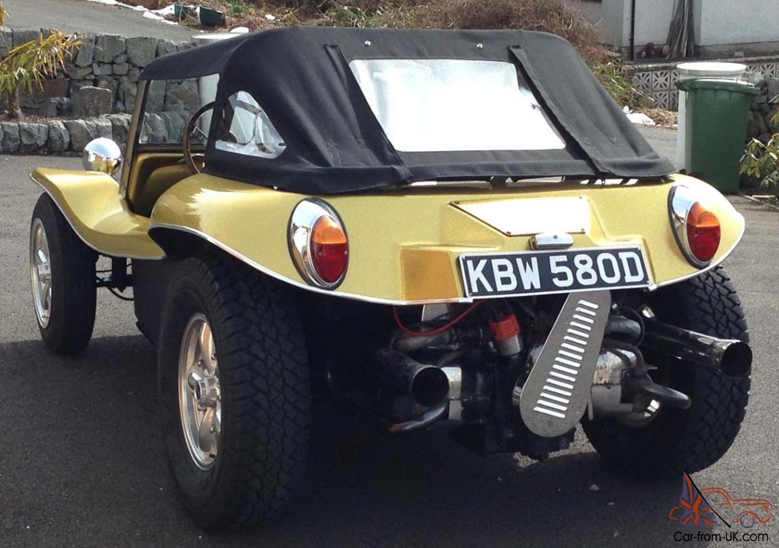 Classic Vw Beach Buggy Beetle Early 1966 Gp Short Wheel