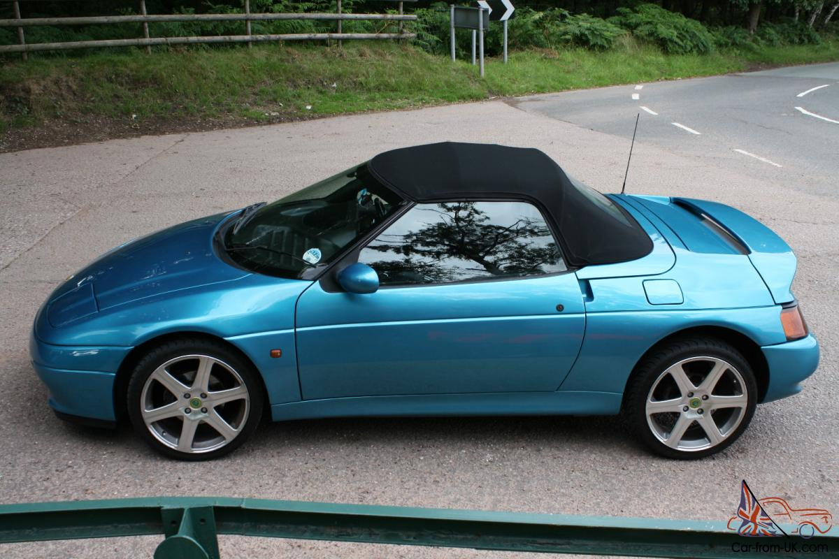 1992 Lotus Elan 1992 Lotus Elan M100 Se Turbo Blue 1992