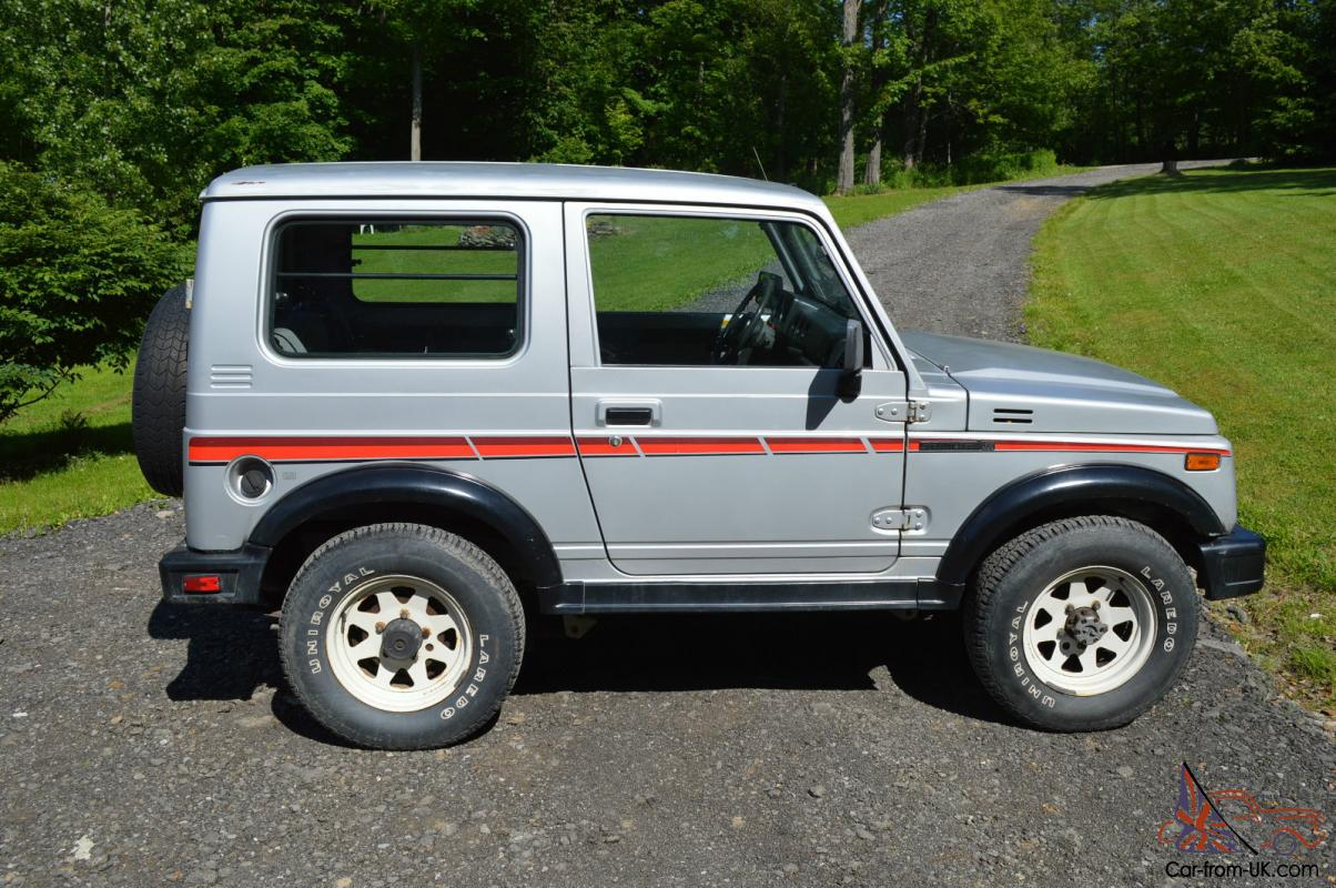 1987 Suzuki Samurai Tin Top Rare Clean Car Fax Low Miles Classic 1990 Sidekick Engine Oil