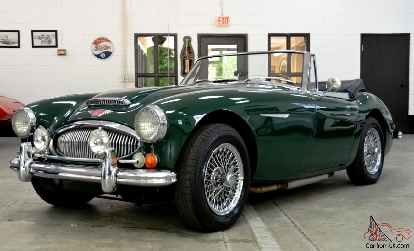 1967 austin healey mkiii 3000 bj8 convertible electric overdrive ralley lights. Black Bedroom Furniture Sets. Home Design Ideas