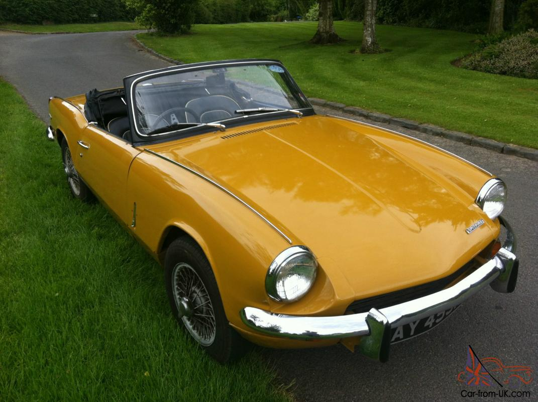 1970 mk3 triumph spitfire 51 000 miles 2 previous owners full mot overdrive. Black Bedroom Furniture Sets. Home Design Ideas