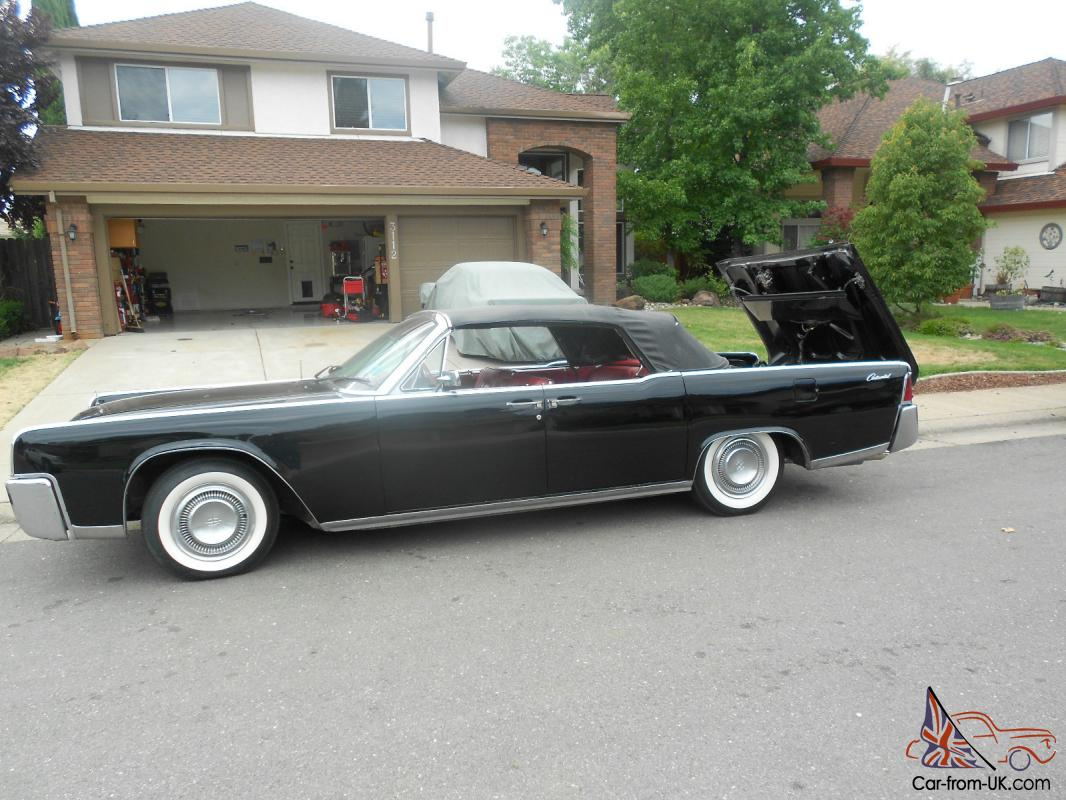 1964 lincoln continental convertible 7 0l. Black Bedroom Furniture Sets. Home Design Ideas