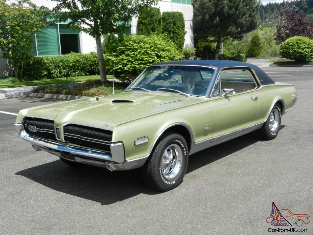 1968 mercury cougar xr 7 gt e numbers matching 427 traction loc. Black Bedroom Furniture Sets. Home Design Ideas