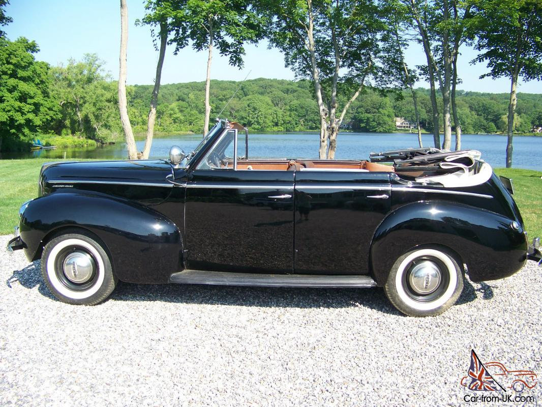 rare classic 1940 mercury eight four door convertible