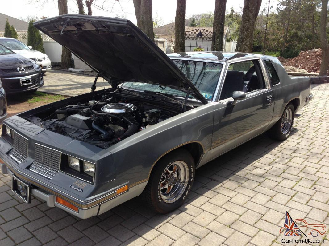 1985 oldsmobile cutlass salon 442 coupe 2 door 5 0l for 1985 oldsmobile cutlass salon