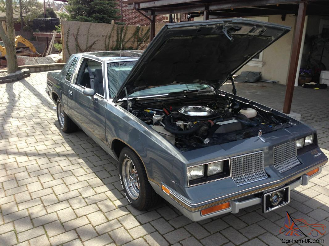 1985 oldsmobile cutlass salon 442 coupe 2 door 5 0l for 1985 cutlass salon for sale