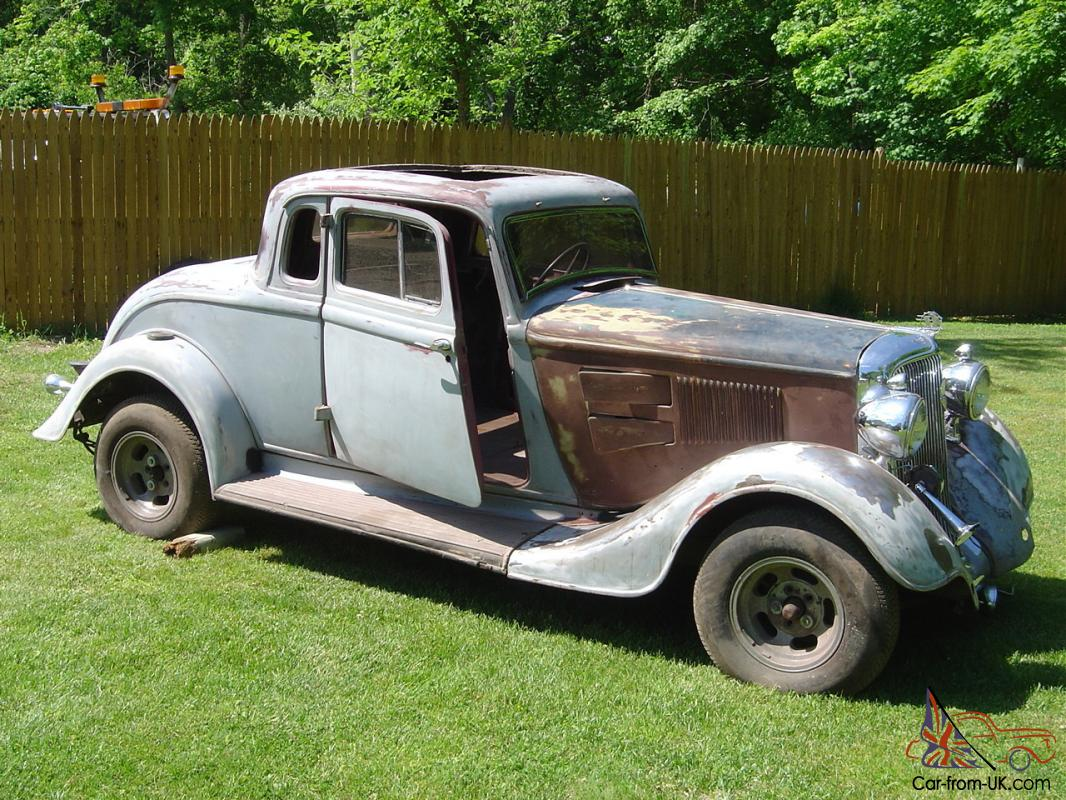 1934 Plymouth Pe Rumble Seat Coupe