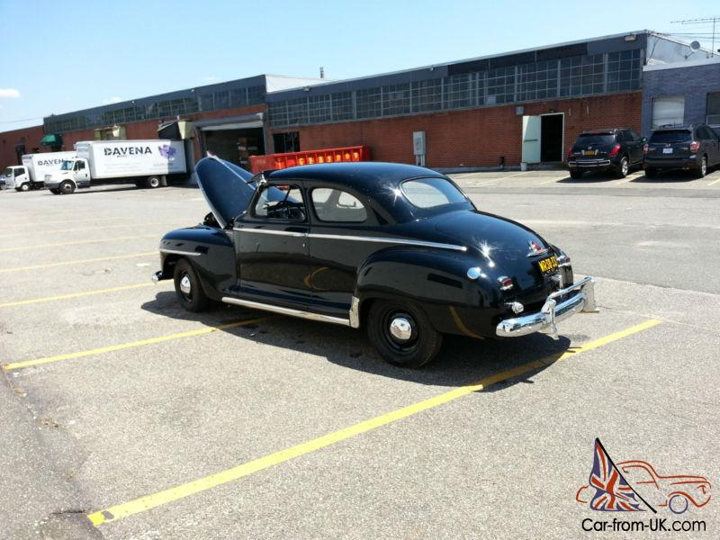1947 PLYMOUTH COUPE HOT ROD SHOW CAR PERFECT ART DECO MINT WOW KUSTOM ...