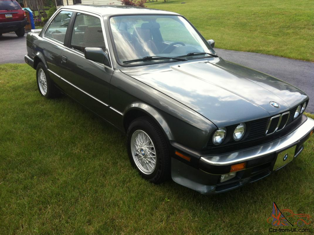 1987 BMW E30 325 IS 5SP - ORIGINAL OWNER 26 YEARS - DELPHIN METALLIC/RED  LEATHER