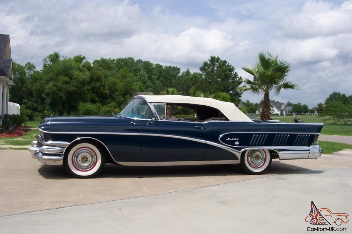 Buick 1958 Limited Convertible