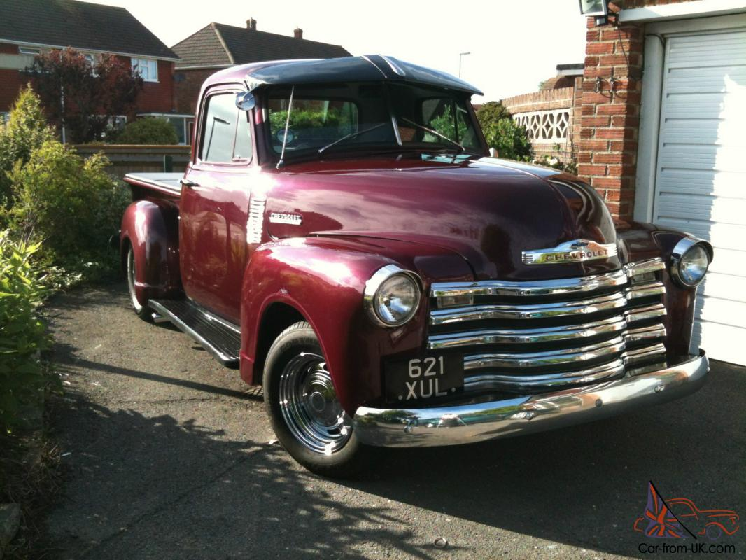1953 classic chevrolet c 3100 pickup show truck. Black Bedroom Furniture Sets. Home Design Ideas