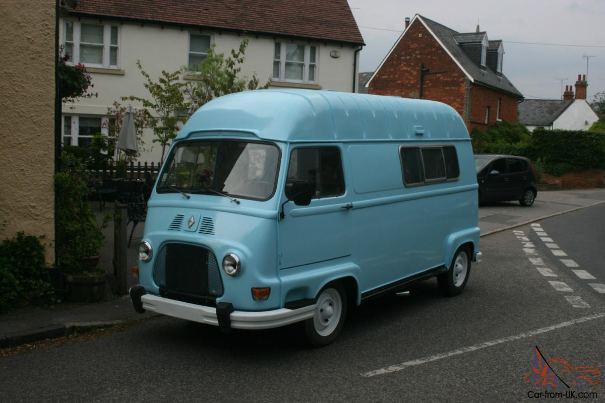 classic renault estafette h van camper tea burger van. Black Bedroom Furniture Sets. Home Design Ideas