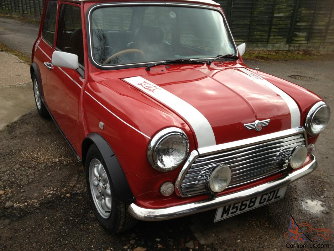 1995 Rover Mini Cooper 13i Red