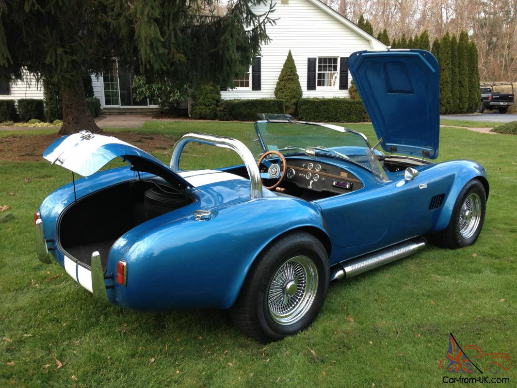 Factory Built Sterling Kit Car For Sale On Ebay: 1966 Shelby 427 Cobra Factory Built Replica !!! NO RESERVE