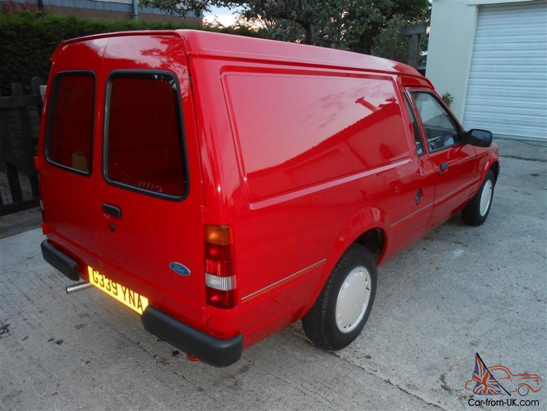 Escort Van Mk4 Gen 65 000 Mls Totally Original