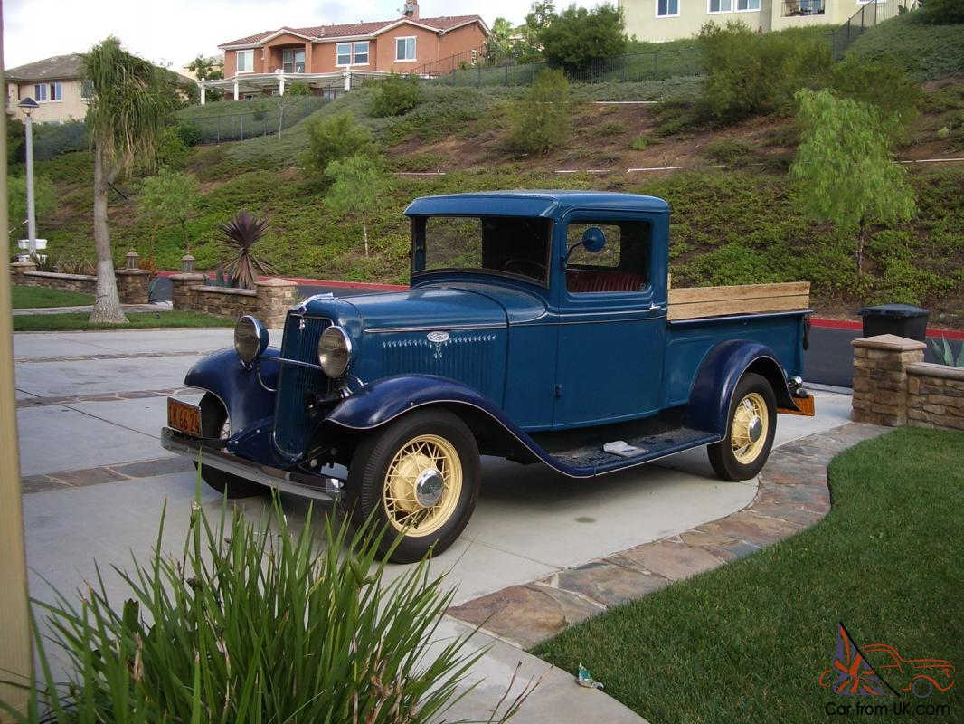 1934 ford pickup classic american no rust driver. Black Bedroom Furniture Sets. Home Design Ideas