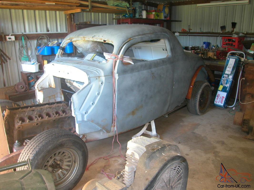 Ford Coupe 1937 3 Window All Henry Ford Hot Rod Rat Rod
