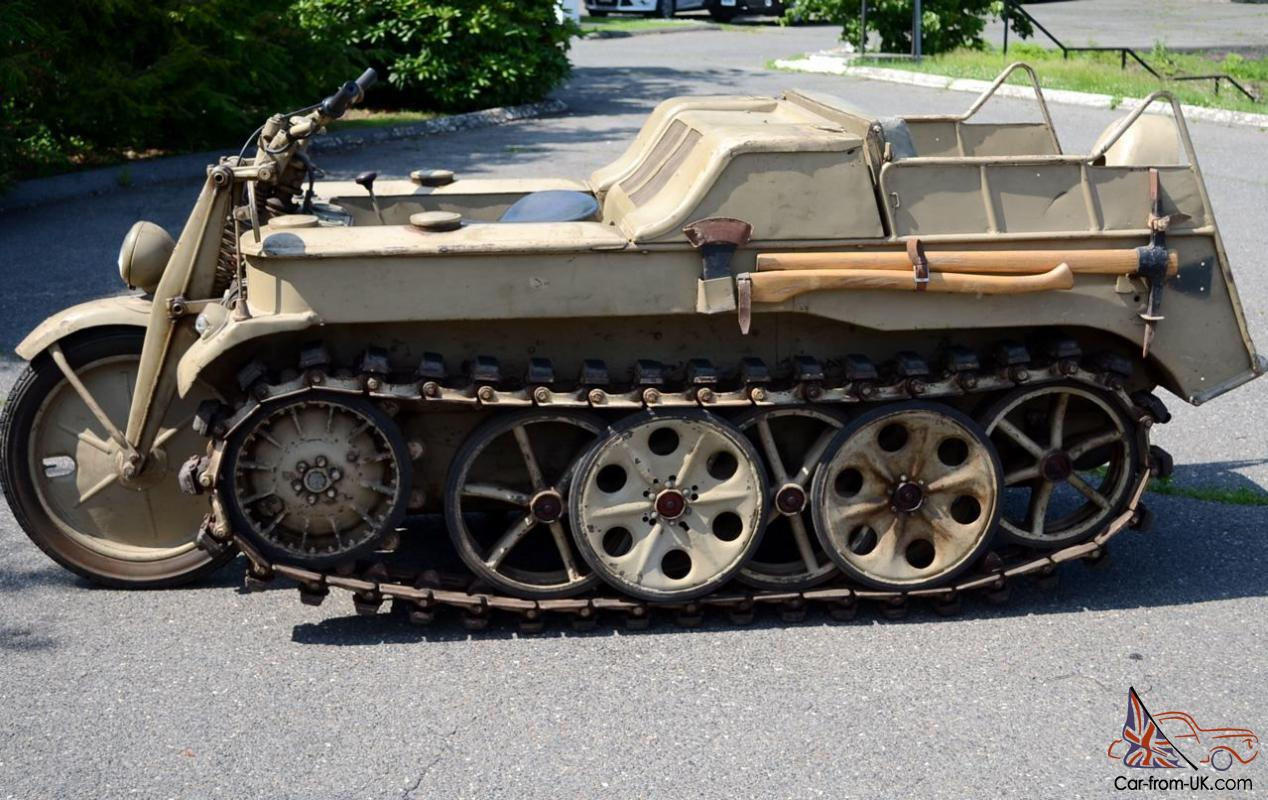kettenkrad german motorcycle halftrack ww2 vehicles 1944 motorcycles military army motors wwii bmw cars makes armored survival hk101 war cgi