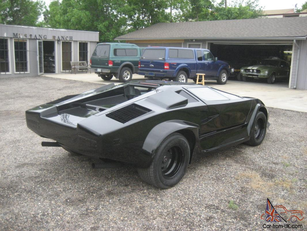 1986 Lamborghini Pontiac Fiero Kit Car V 6 5 Speed