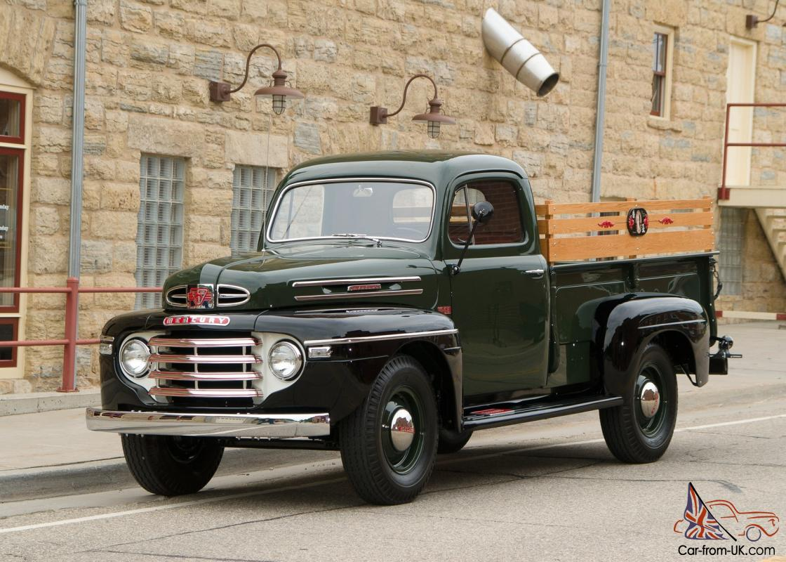1949 49 Mercury Ford M 68 1 Ton Pickup Truck Photo