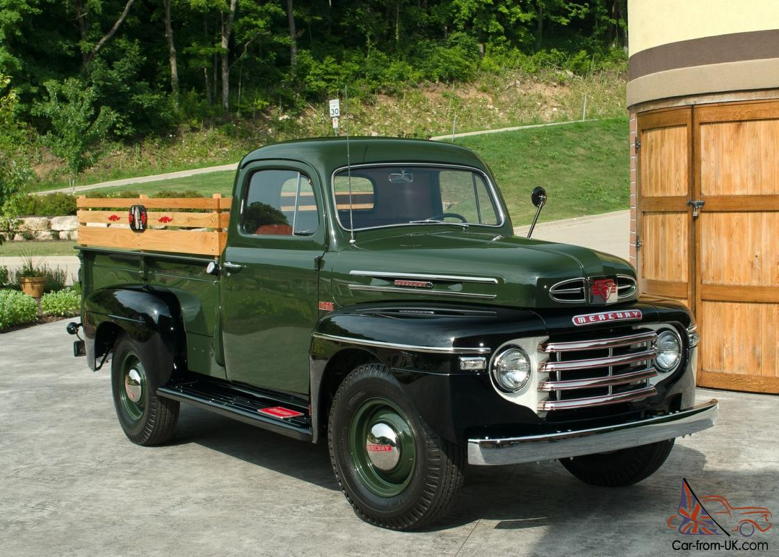 1947 International Truck >> 1949 / 49 Mercury / Ford M-68 1-Ton Pickup Truck