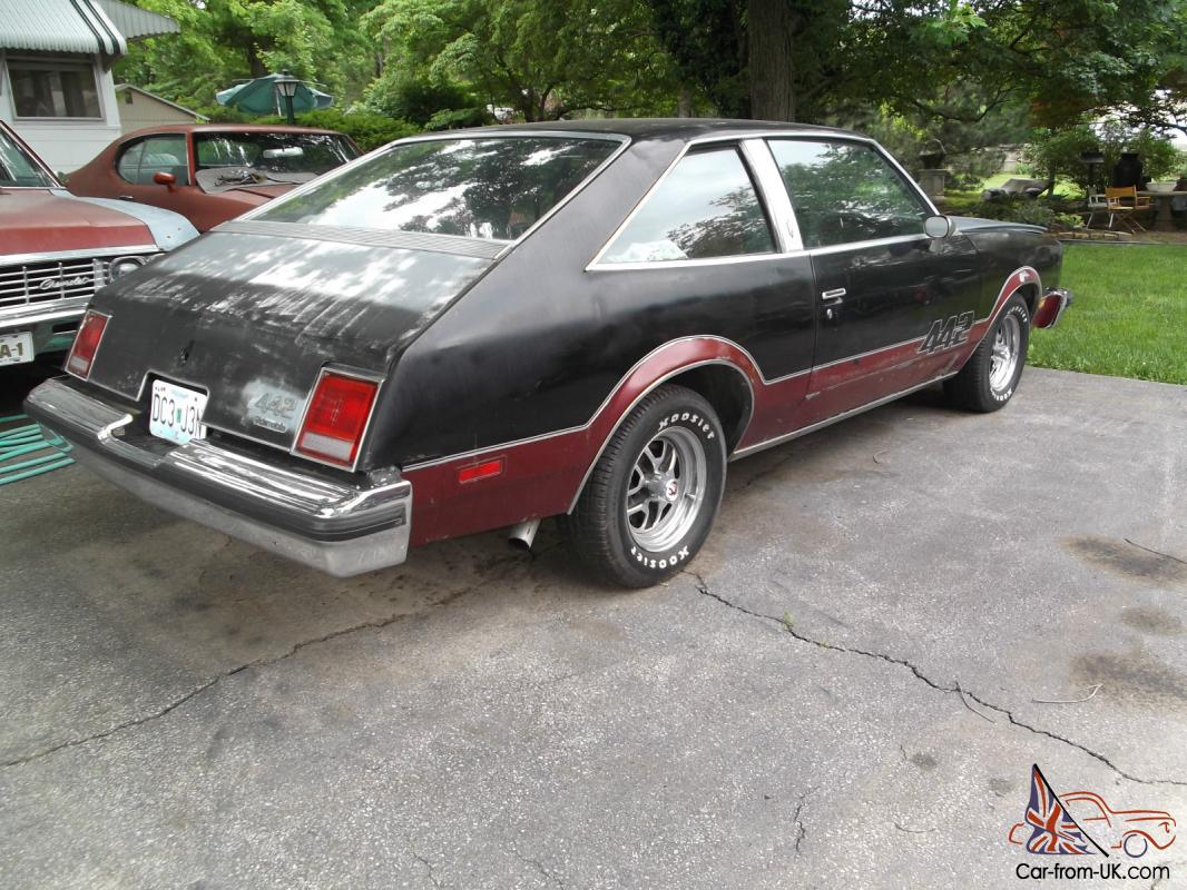 1 of 270 built by oldsmobile 1979 442 cutlass salon for 1979 olds cutlass salon