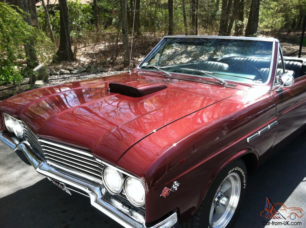 1965 buick skylark special custom big block convertible. Black Bedroom Furniture Sets. Home Design Ideas