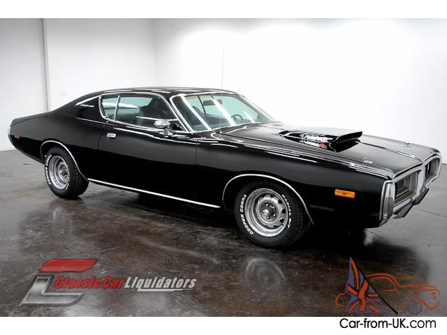 1972 dodge charger big block 383 v8 automatic tx9 black on black look at this. Black Bedroom Furniture Sets. Home Design Ideas