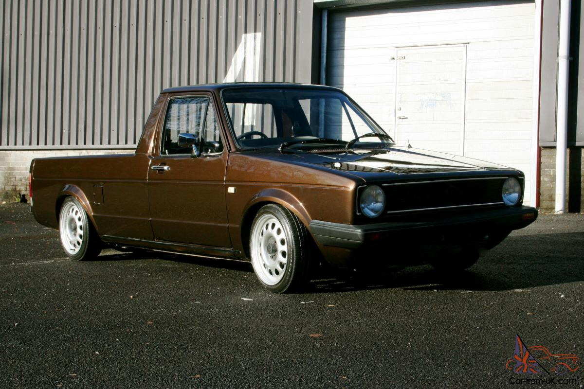 volkswagen caddy pick up van 1 6 diesel mk1 full respray vw g60 steels. Black Bedroom Furniture Sets. Home Design Ideas
