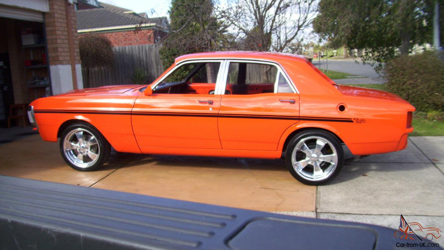 XY GS Fairmont Straight Body Flow Coat Intro Billets More Unfinished ...