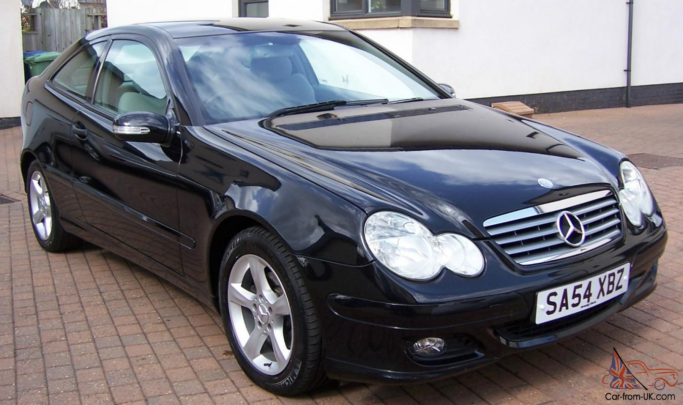 Automatic Cars For Sale Ebay Uk: MERCEDES C180 KOMPRESSOR SE AUTOMATIC SPORTS COUPE ONLY