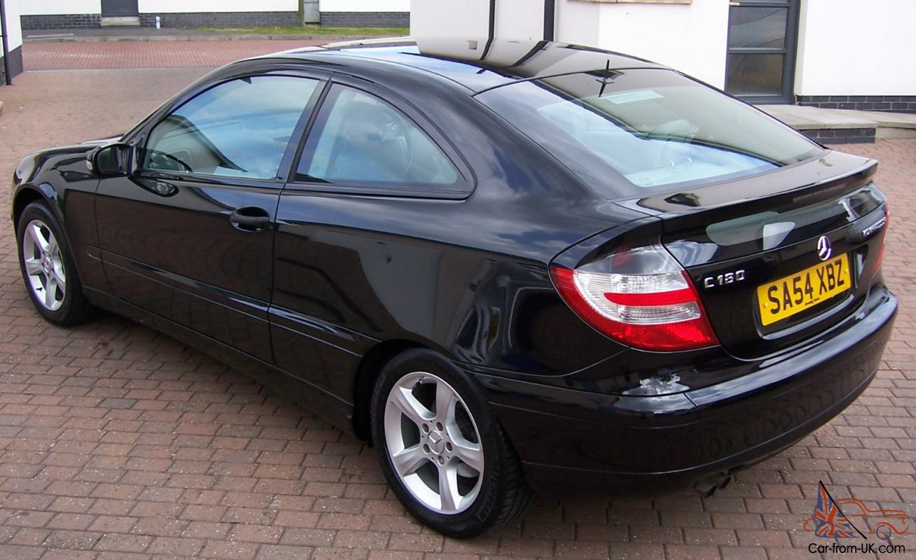 mercedes c180 kompressor se automatic sports coupe only 34000 miles. Black Bedroom Furniture Sets. Home Design Ideas