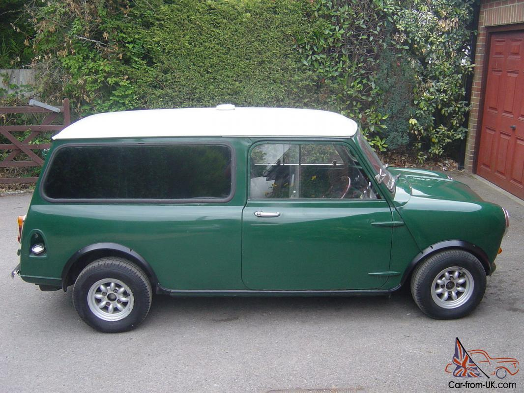 classic1965 mini van factory fitted side windows and rare smooth roof. Black Bedroom Furniture Sets. Home Design Ideas