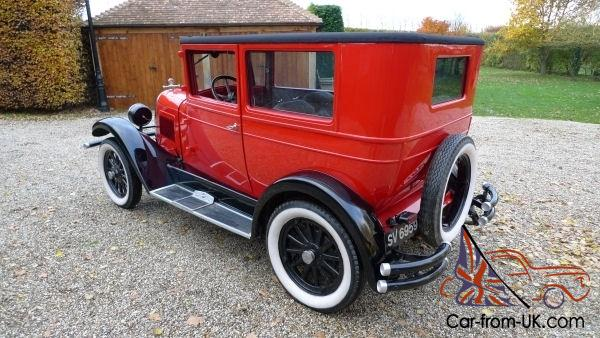 1927 2 door saloon Willys Overland Whippet