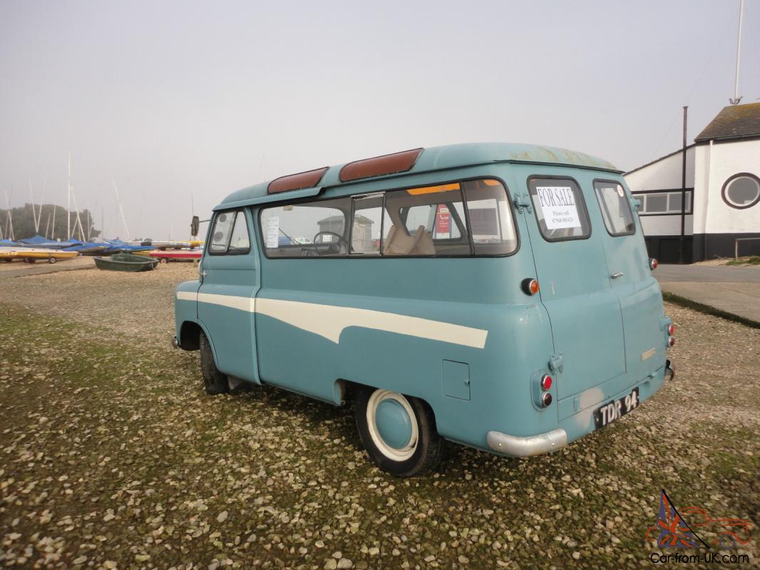 1960 Bedford Utilabrake 10 Seater Bus Original Rat Rod