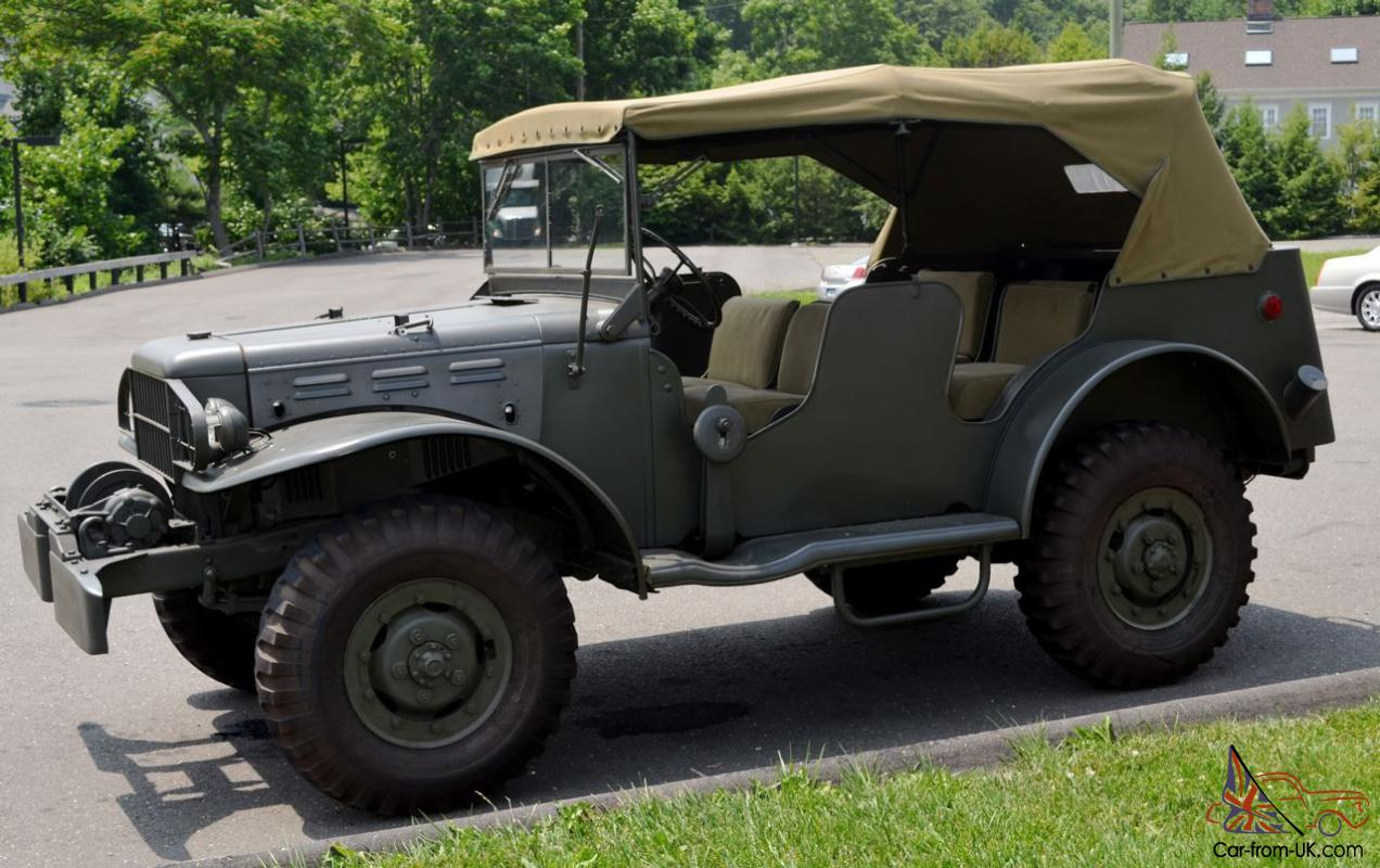 Dodge Wc For Sale >> 1944 Dodge Wc 57 Command Car
